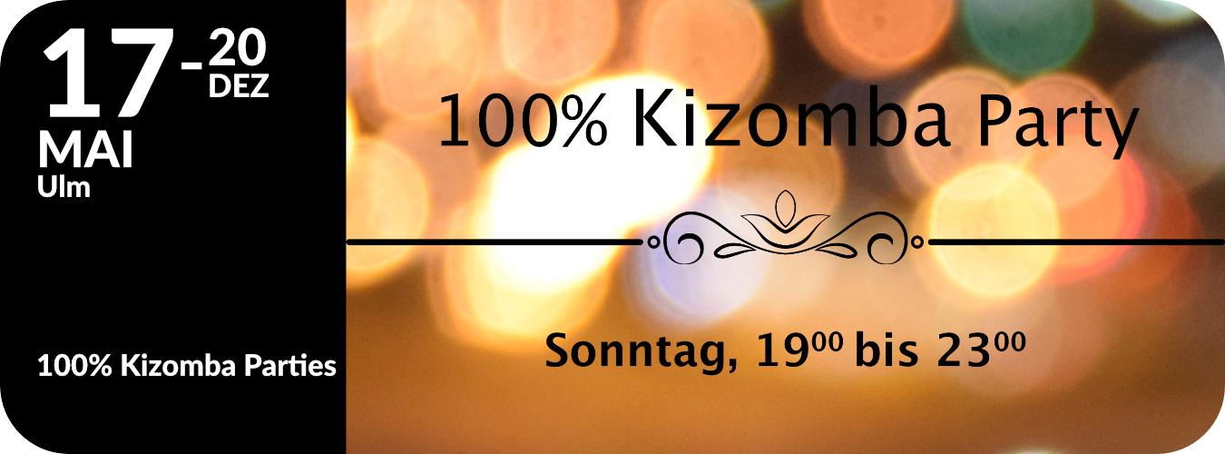 100% Kizomba Parties in Ulm 2015