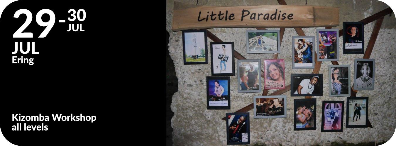 Workshop im Little Paradise in Ering am 29.07.17