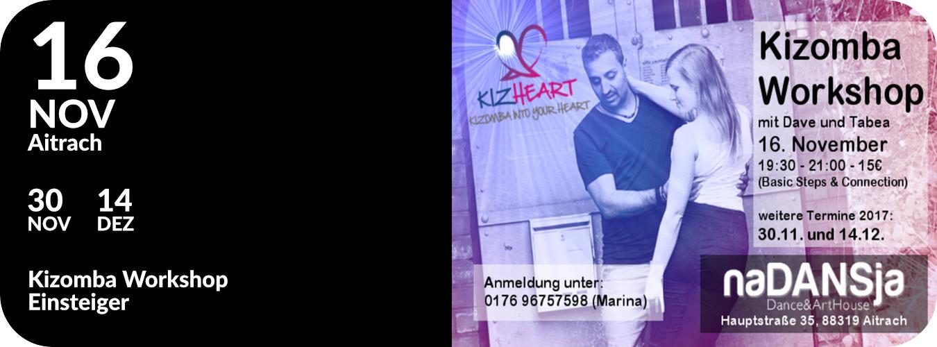 Workshop in Aitrach im November & Dezember 2017