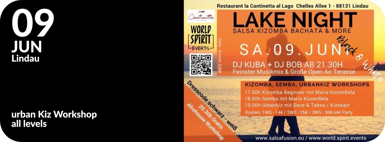 Workshop in Lindau mit Salsafusion am 9.6.18