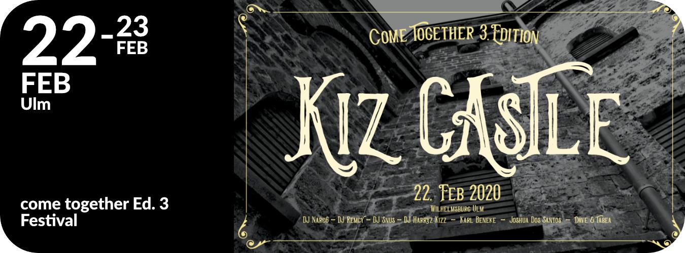 Come Together Kiz Weekend in Ulm vom 22. bis 23.2.20